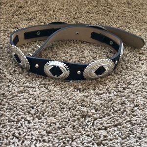 Accessories - Black western belt in size XS